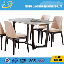 European classical dining room set alibaba italy home furniture wood dining table&chairs set