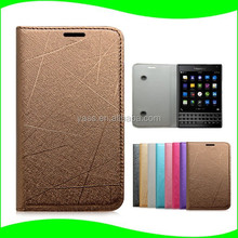 Alibaba China Suction Cup Cell Phone Flip Leather Case for Blackberry Q30 Phone Case