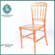 Acrylic napoleon chair cover for wedding cheap