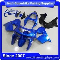 FFKKA008 Motorcycle Fairings For ZX 9R ZX9R 1998 1999 Blue Oem Fairings