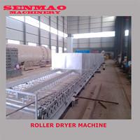 Steam roller veneer drying line/high speed plywood core veneer drying line