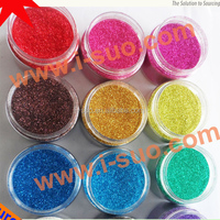 Colorful glitter powder for glitter tattoo ink