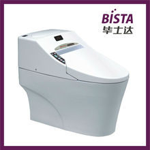 Automatic toilet with soft closing, seat sensor and human engineering design(BST-912I,912II)