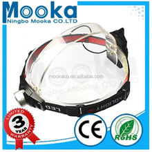 MH003003 Most Popular Dry Battery headlight for Hunting 3w head light for honda wave 100