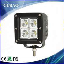 12v automotive 16w led work light, auto parts car accessory with CE IP67 ROHS