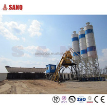 50m3/h Mini Ready Mixed Concrete Plant With Self Loading Concrete Mixer