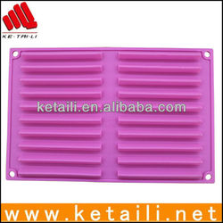 High quality silicone elongated cake mould