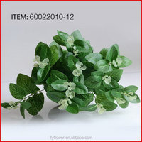 Top quality promotional high quality artificial flower leaf