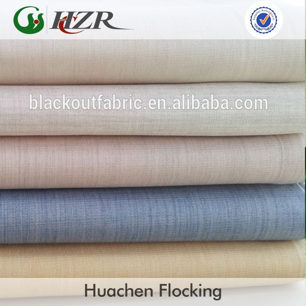 In-stock PA coated polyester blackout fabric for curtan roman shades
