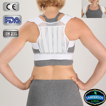 Samderson 2015 bestselling breathable mesh back straightening clavicle brace/posture correction/support