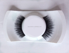 wholesale mink false eyelash 100% siberian mink lashes thin soft eyelash extension