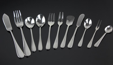 cheap packing with many different type stainless steel cutlery sets disposable cutlery set