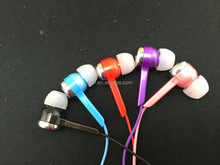Colorful new design color earphone color earbuds