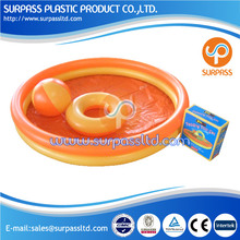2014 New wholesale 122cm size 2 rings Inflatable Plastic Water Swimming Pools