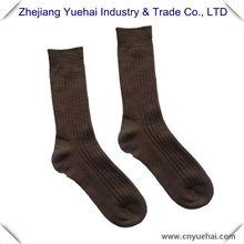 Knitted Men's Striped Brown Military Summer Socks