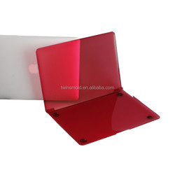2015 New arrival 1mm transparent crystal clear plastic 17 hard case for macbook pro