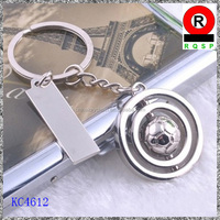 Ebay china promotional gift world cup souvenir 2014 world cup gifts fashion metal football keychain