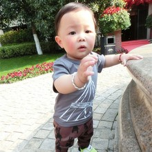 CB006 Newest Fashion Design Kids Clothing All Matching Baby Boy T-shirt