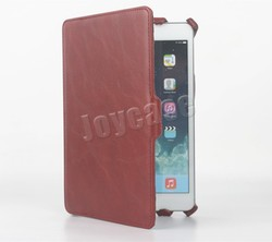 Durable leather tablet case for iPad Mini 4 case