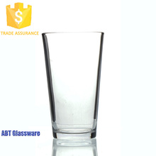 Factory supply cheap logo print custom beer glasses
