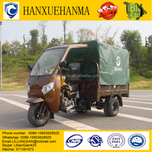 top 10 China enclosed 3 wheel truck 300cc cargo tricycle with double rear wheels cabin