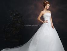 White eyelash lace and French lace wedding dress fabric