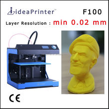 ideaPrinter F100 high resolution 0.02 mm big size 3d printer copier korea