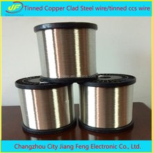 Tinned Copper Clad Steel wire/tinned ccs wire
