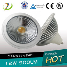 Factory Price 15W 220V 25degree cob ar111 led G53 GU10 with internal driver 15w AR111 LED