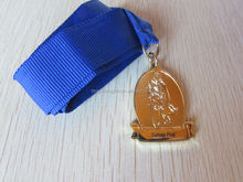 School medal souvenir medals with lanyard