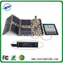 Outdoor High Efficiency Foldable Solar Panel for cellphone/ smart phone/Notebook/Power Bank