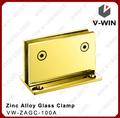 cor de ouro de alta qualidade 90 graus porta do chuveiro pivô dobradiça para porta de vidro