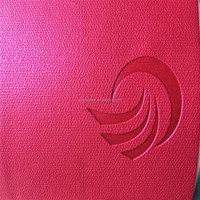 Newly good quality change color pu leather fabric for brand HX758