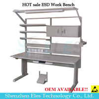 Customizable ESD electrical oem anti-static work bench