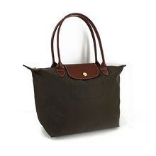 Welcome OEM!!2012 Best Design 420D Nylon Foldable Tote Bag with PU Leather Handle,Fantastic Shopping Handbag for Ladies