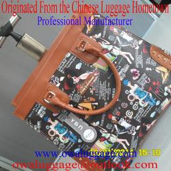 Personalized Travel Leather Bag L-002