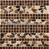 mixed color marble stone adhesive for wall