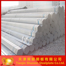 BS1387 galvanized iron scaffolding pipes