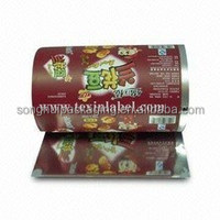 Spicy diced bean curd packing film /Food serivce roll film /Laminated roll film for food packing
