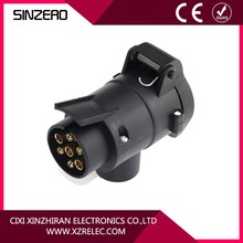Good quality Universal 7-pin socket Towing Electrics with plastic shell