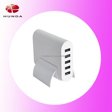 stylish and powerful AC wall charger with interchageable power cord, charger multi plug usb port for iPad mini, for iPad Air