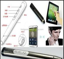 New development V3.0 bluetooth touch pen,bluetooth headset pen