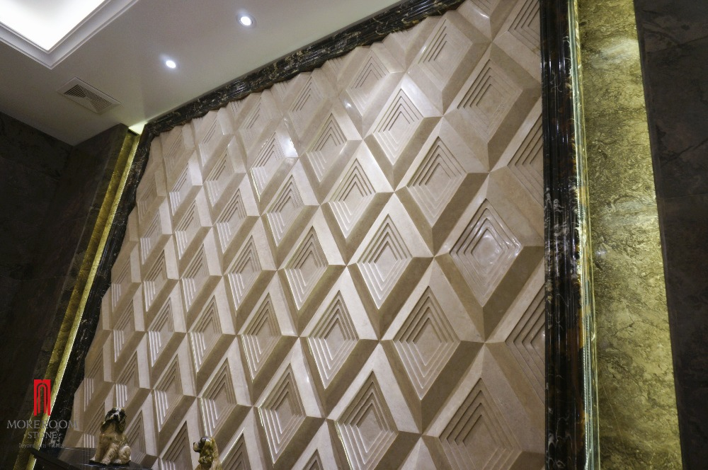 ML-A011 MONO 3D marble carving for wall decor 2.jpg