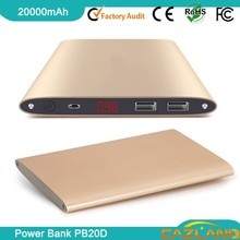 PB20D hello kitty portable phone charger 20000mah 20000mah with digital lcd display