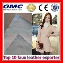 Newest microfiber pu leather for car seat cover made in china