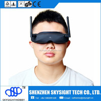 Skyzone SKY02 Diversity receiver V2 AIO head tracking and camera FPV 32CH 5.8G Built-in 3D/ 2D mode Goggles RC Toy Low shipping
