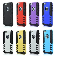 Two Piece Combo Hyperion Titan Hybrid Protective Cell Phone Case for iPhone 6 4.7inch