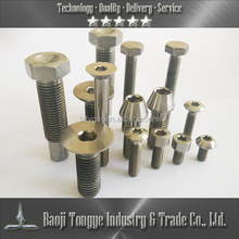 self drilling screw concrete Gr2 titanium DIN