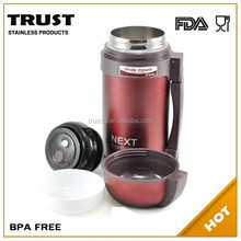 new design thermos outdoor bottle travel bottle travel vacuum flask with wide mouth keeps hot or cold 24hours