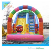 Exciting!! inflatable slide combo//inflatable games
